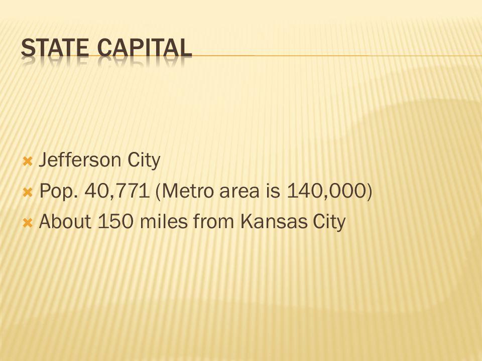 Missouri State Symbols Missouris Nickname Is The Show Me State