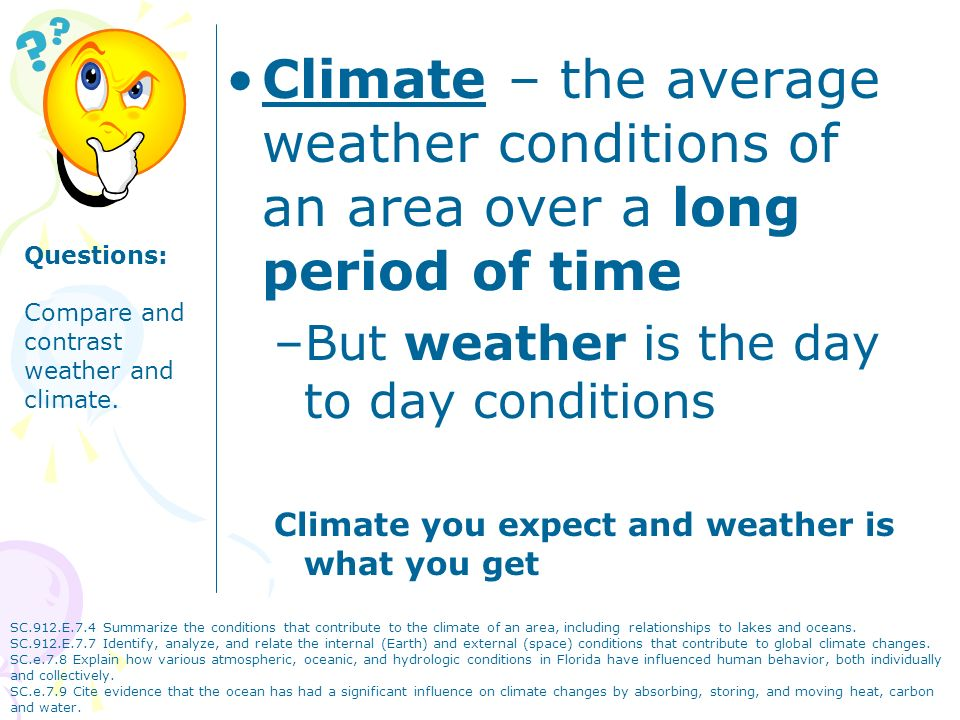 Climate chapter 25 climate the average weather conditions of an climate the average weather conditions of an area over a long period of time publicscrutiny Image collections