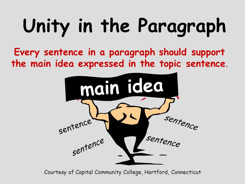Courtesy of Capital Community College, Hartford, Connecticut A topic sentence may be developed by giving examples A topic sentence may be developed by giving examples A topic sentence may be developed by telling an incident A topic sentence may be developed by telling an incident A topic sentence may be developed by giving details Developing a Paragraph