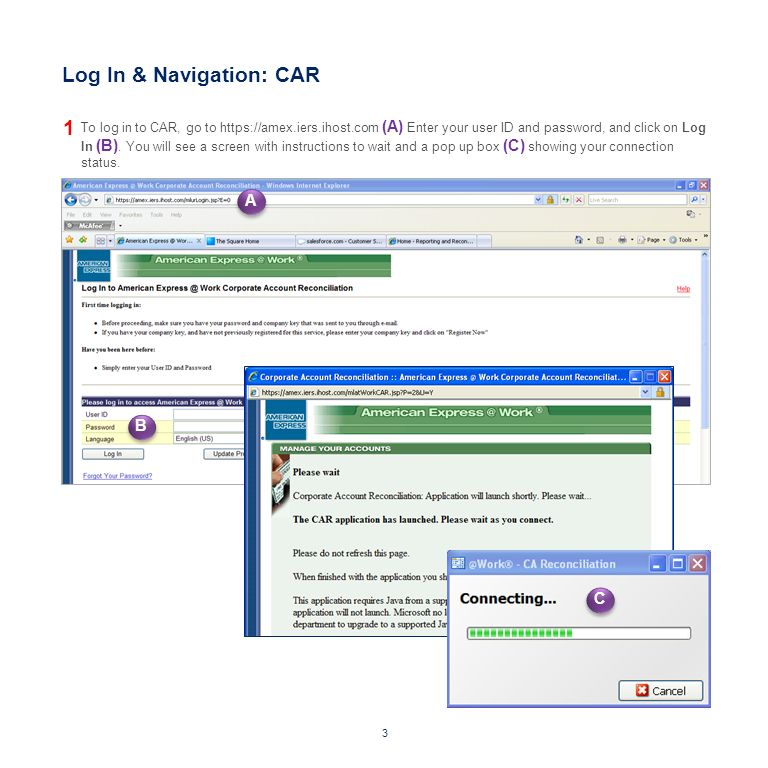 CARSAM Quick Reference Guide for Users May 2012 CORPORATE