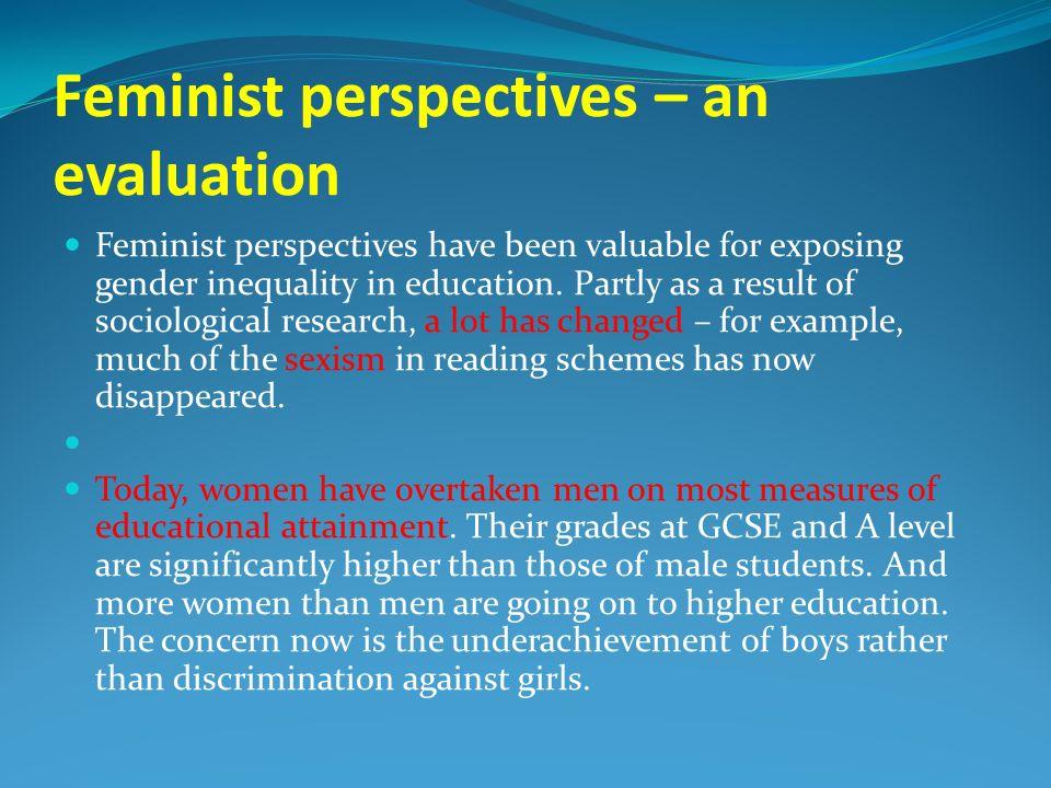 gender inequality in education sociology