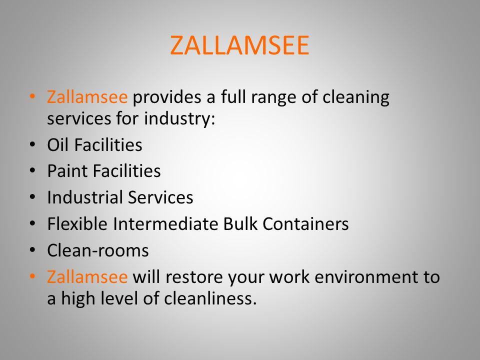 ZALLAMSEE Presentation GS ENGINEERING COMPANY  ZALLAMSEE Zallamsee