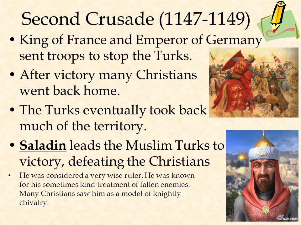 The First Crusade (1096-1099) Succeeded in capturing Jerusalem –Massacred all non- Christians in Jerusalem