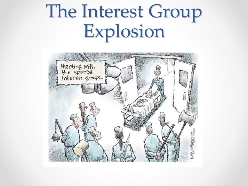 The Interest Group Explosion