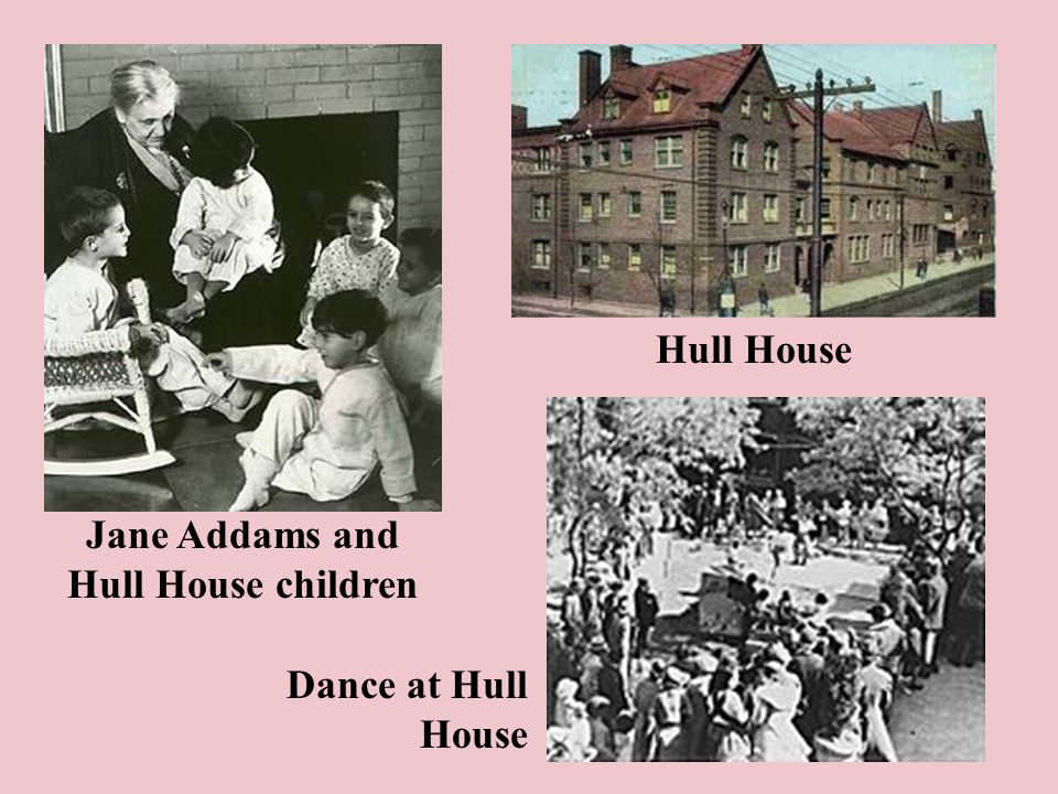Hull House Jane Addams and Hull House children Dance at Hull House