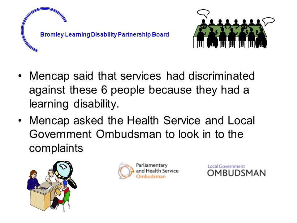 discrimination against learning disabilities