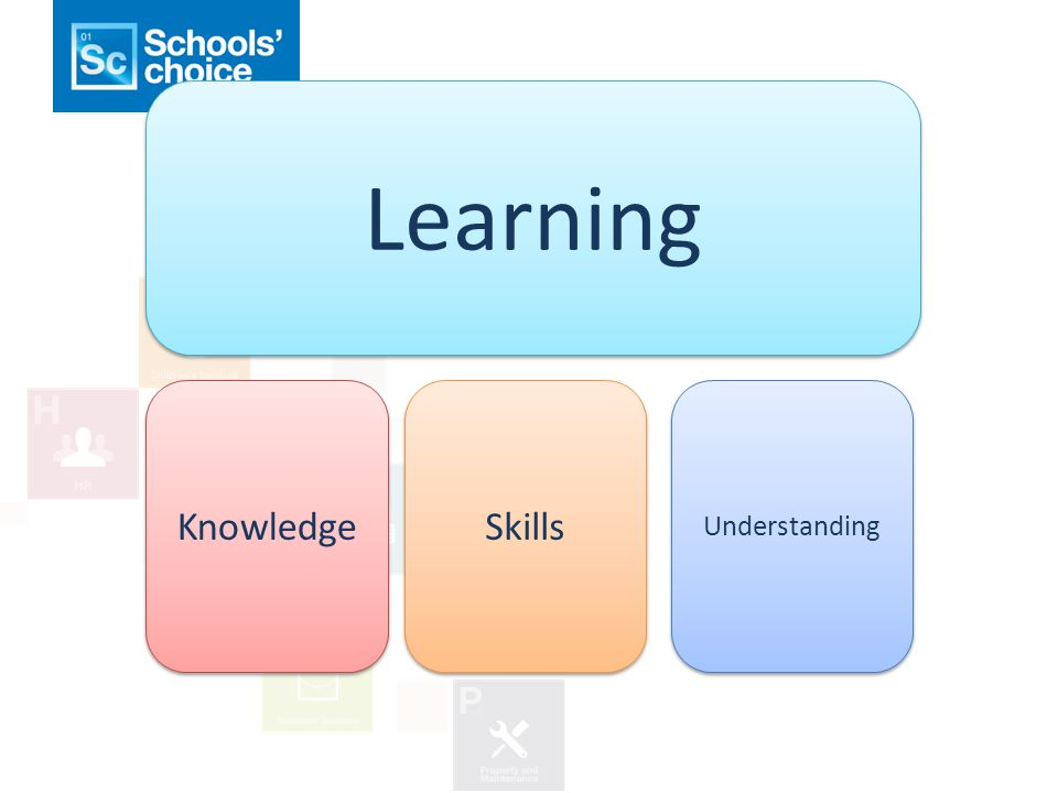 Learning Knowledge Skills Understanding