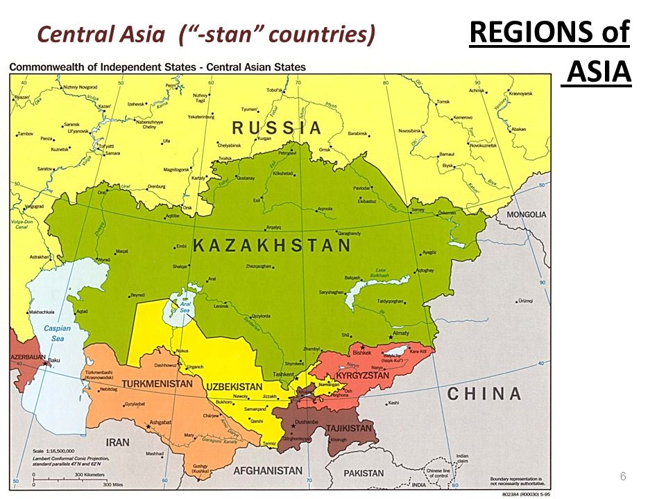 Maps and Location Identification Countries (states), regions, & USA Stan States Map on