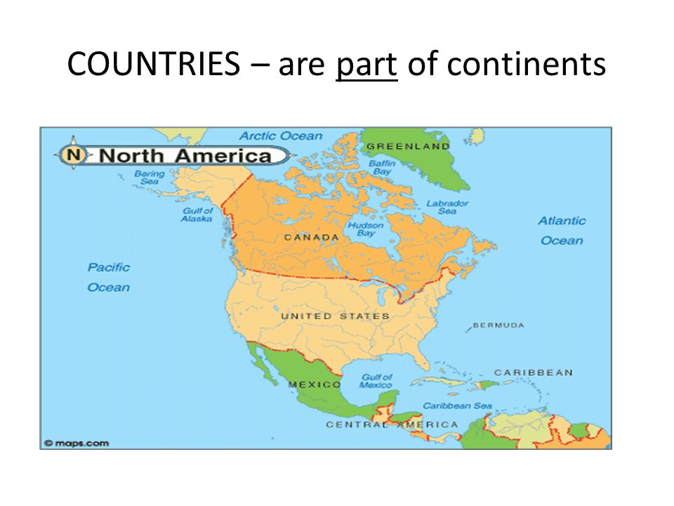 4 COUNTRIES Are Part Of Continents SOUTH AMERICA ASIA