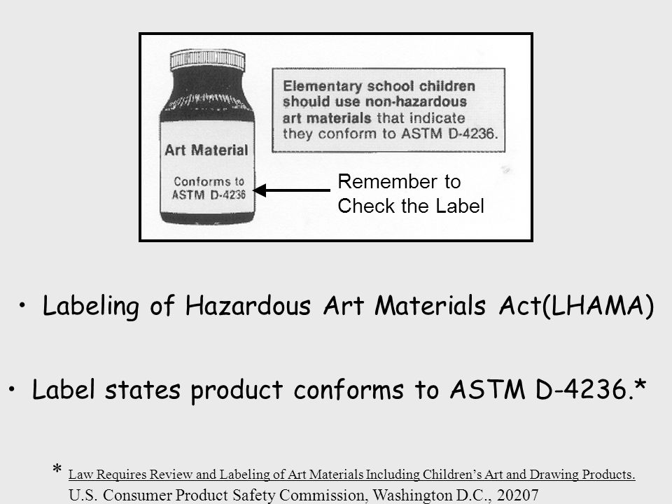 Hazardous Materials In Visual Art Departments Pose Serious Threats on