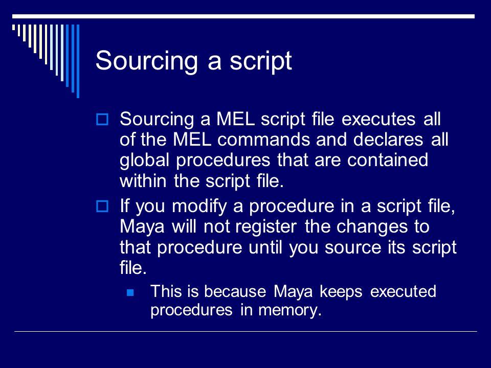 Mel & Hot Keys Review  What's MEL?  Maya Embedded Language