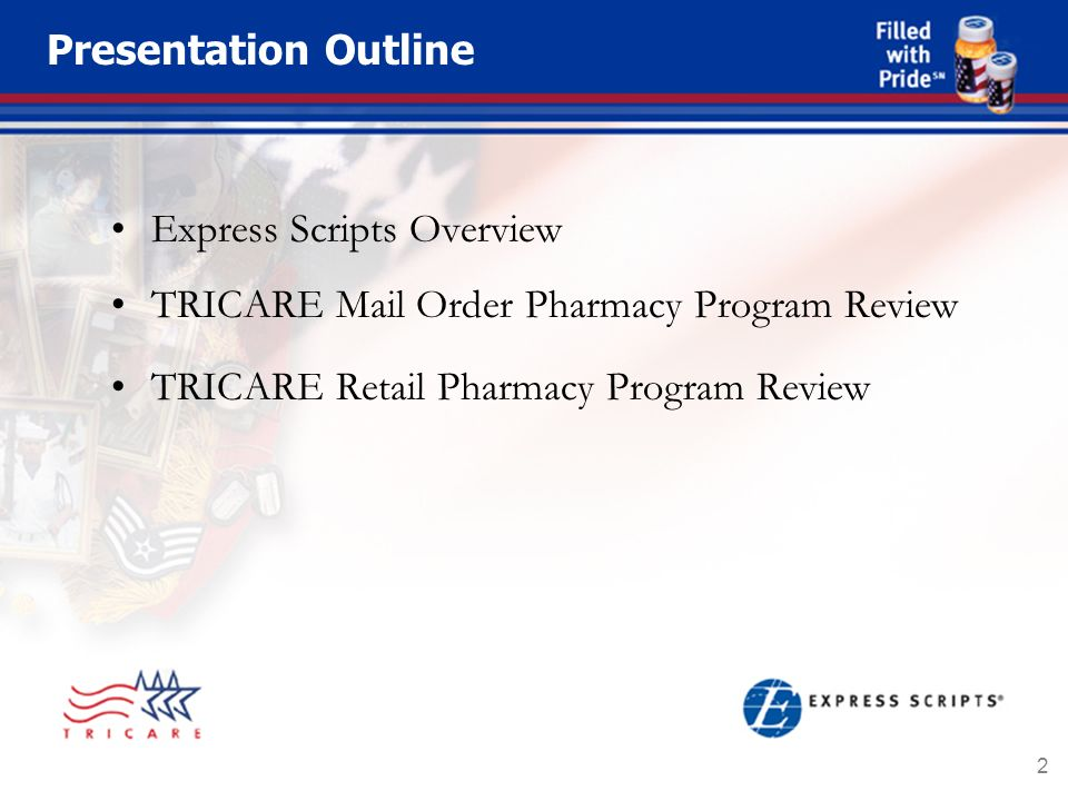 1 Overview Of Tmop And Trrx Pharmacy Programs 2 Presentation