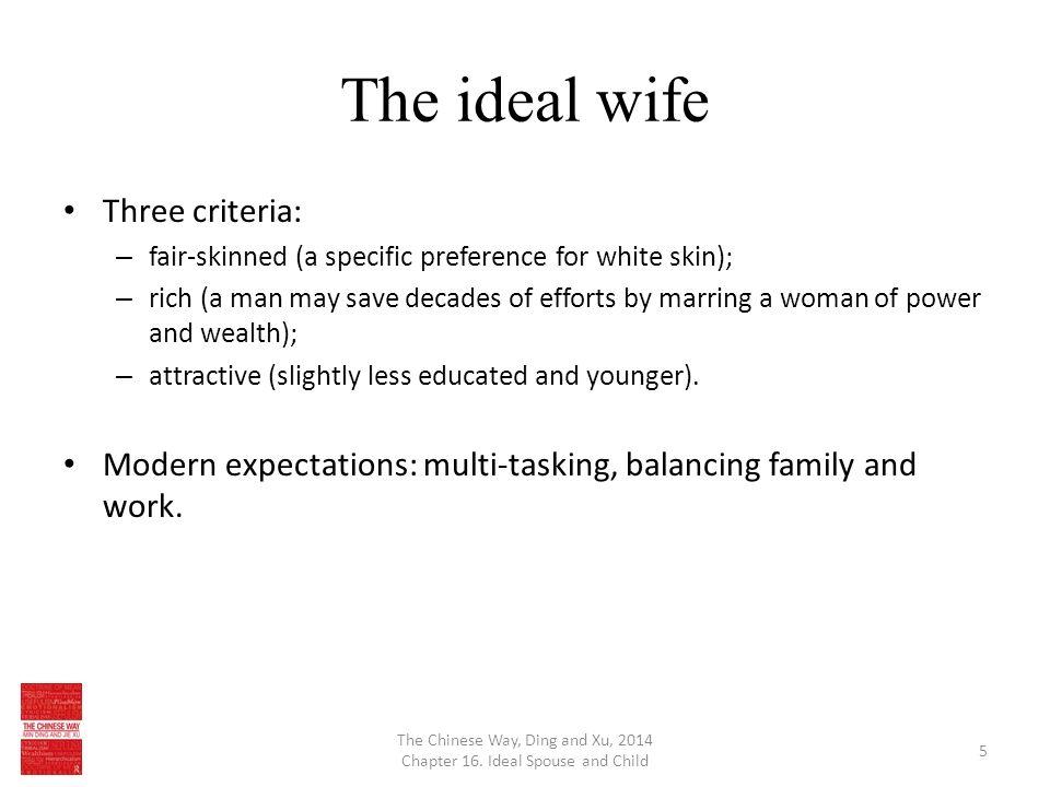 ideal spouse