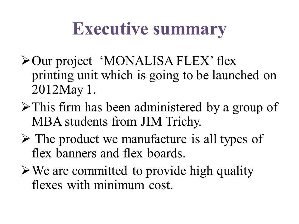 flex printing business plan