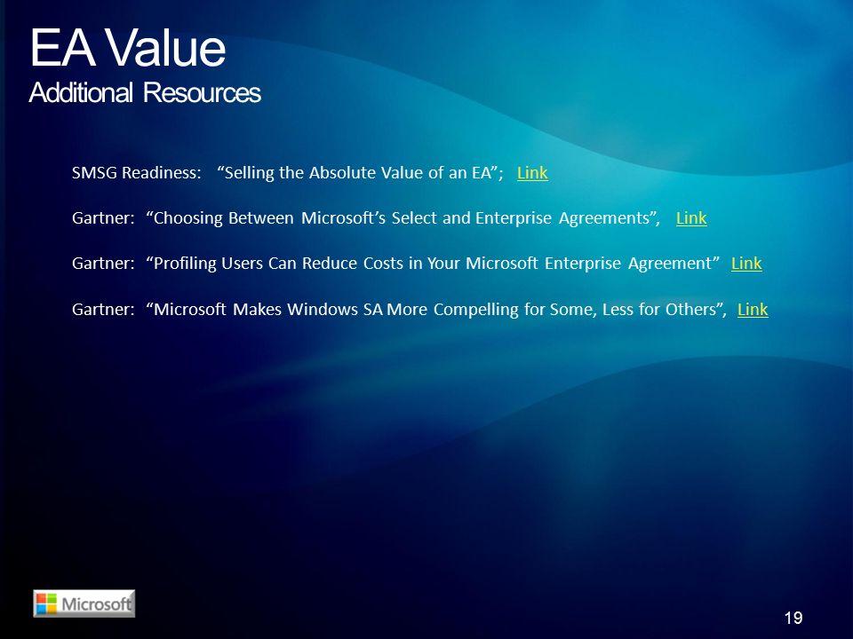 Enterprise Agreement Value Assessment It Driving Strategic