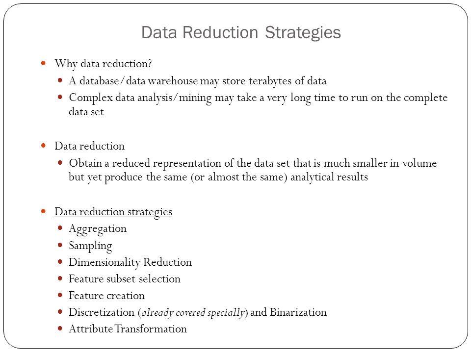 DATA REDUCTION IN DATA MINING EPUB