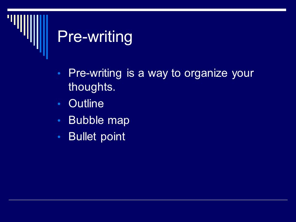 Macbeth Essay Thesis   Paragraph Essays  Prewriting Prewriting Is A Way To Organize Your  Thoughts Outline Bubble Map Bullet Point Research Writting Assistance also Help For Writing Prewriting   Paragraph Essays Prewriting Prewriting Is A Way  Thesis Of An Essay