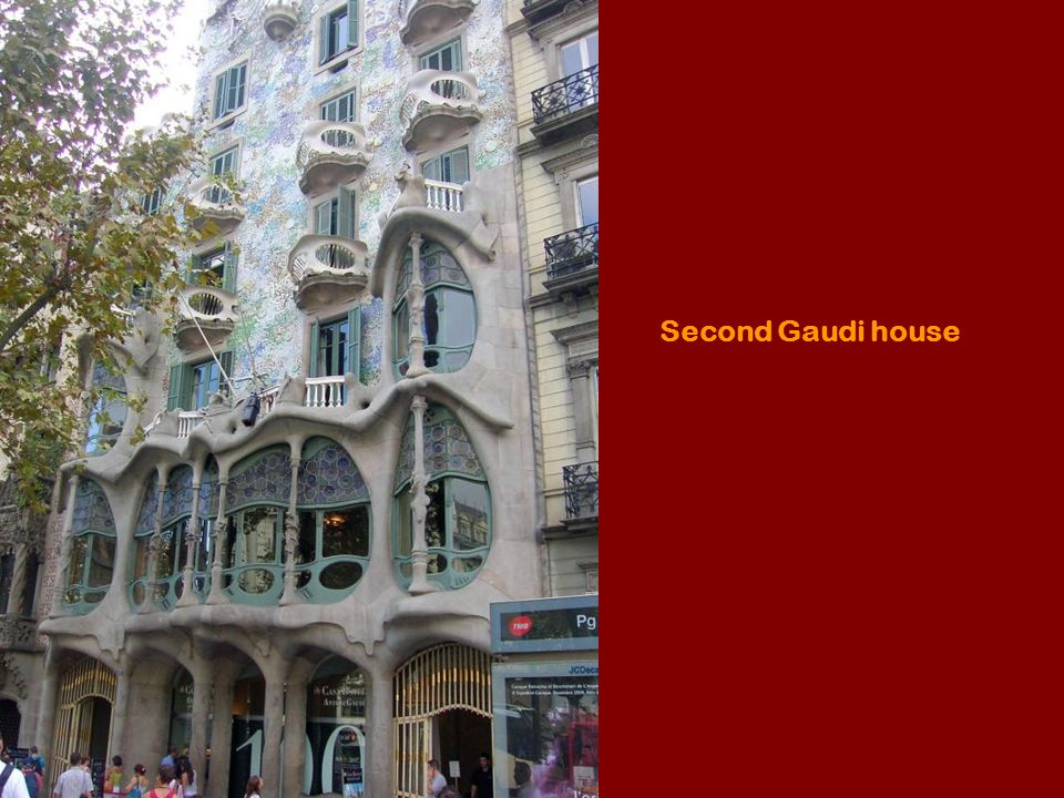 Second Gaudi house
