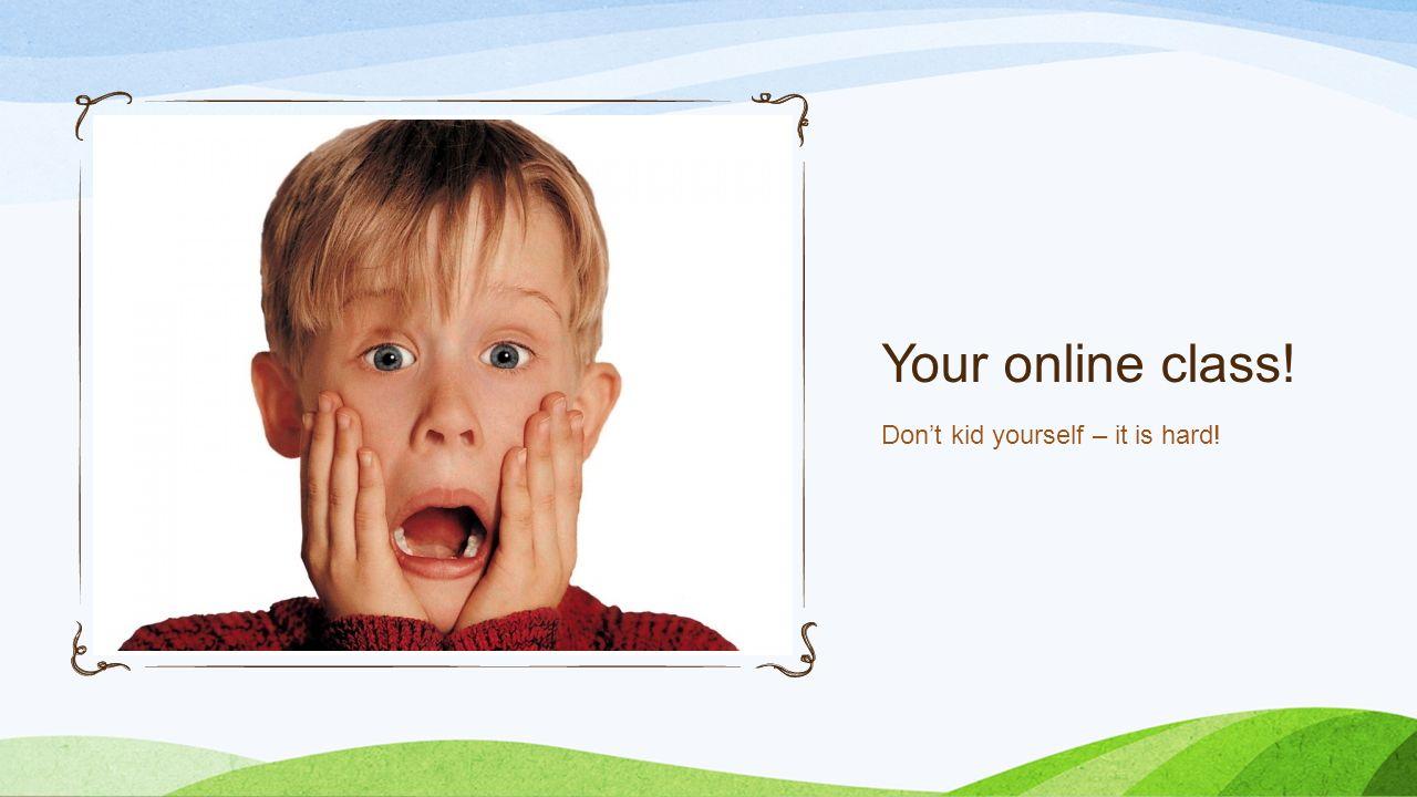 is online summer school hard