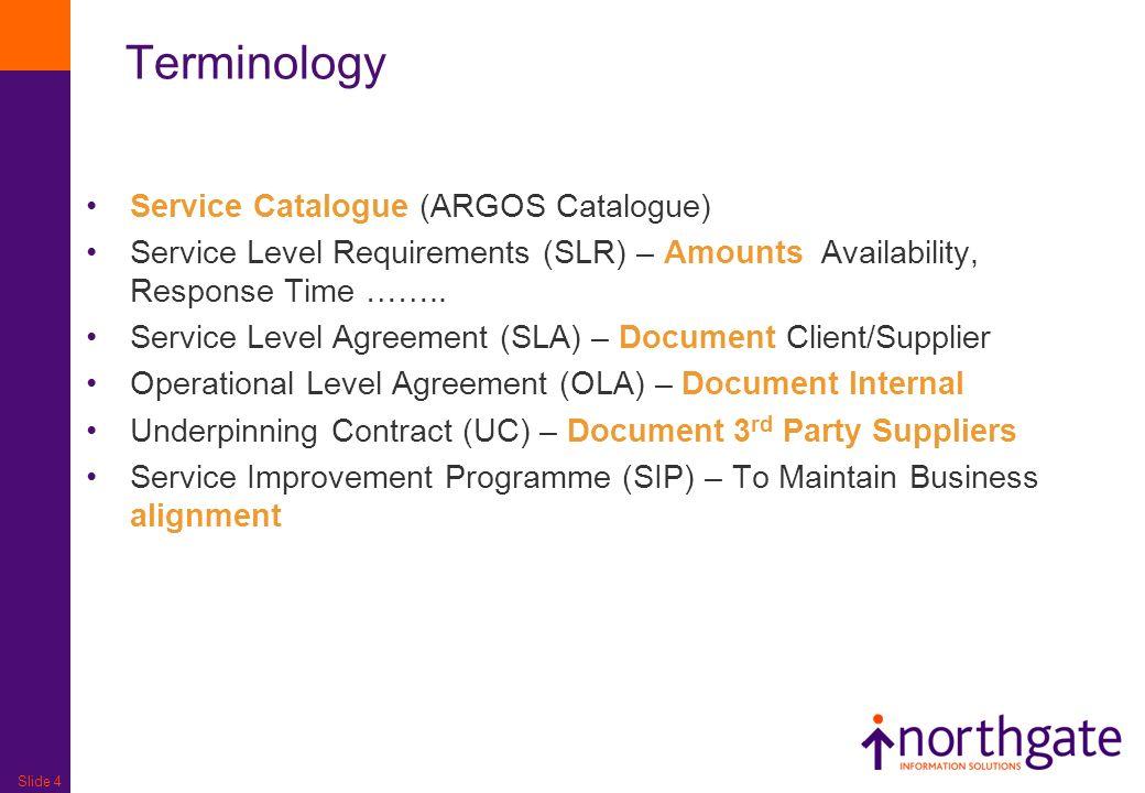 Slide 1 Service Level Management Slide 2 Goal Primary Objective