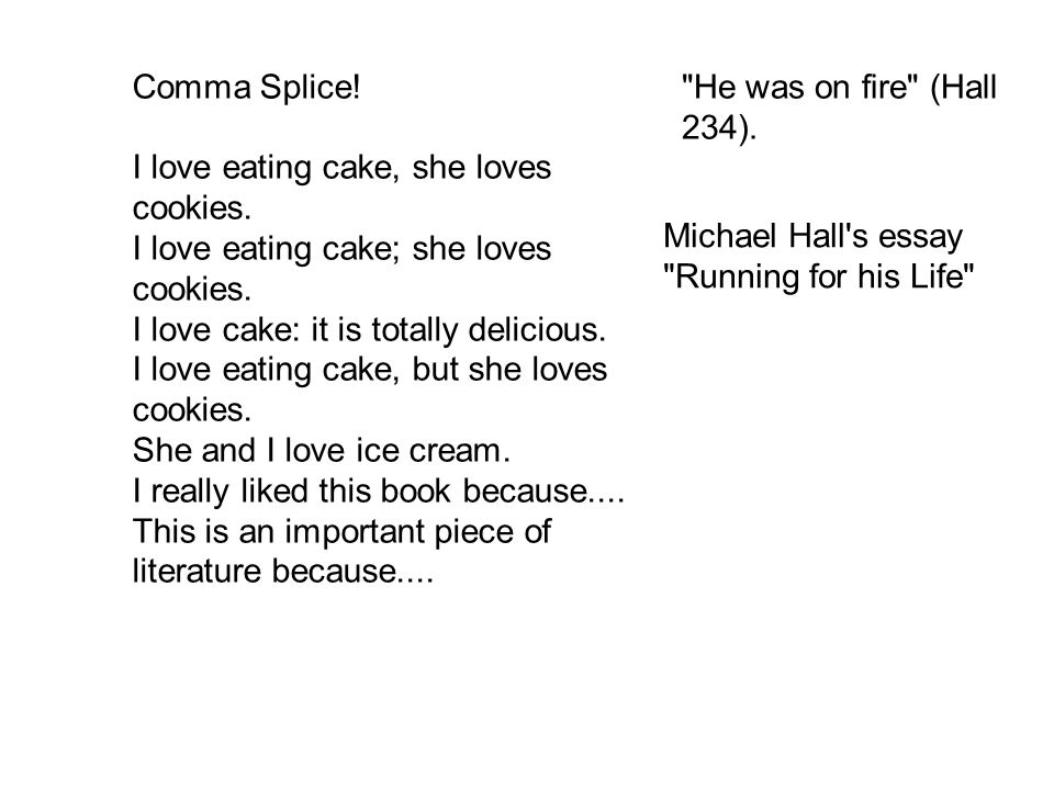 i love eating essay