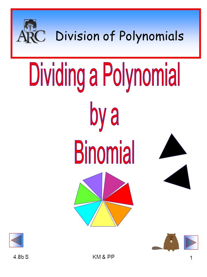 48b Skm Pp 1 Division Of Polynomials 48b Skm Pp 2 Division Of