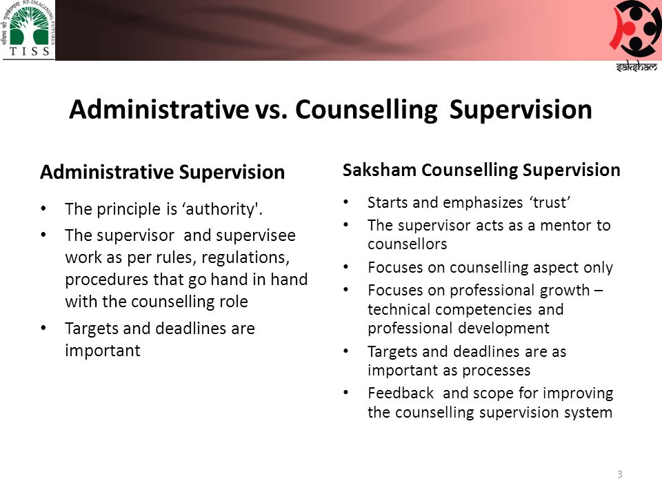 why is supervision important in counselling