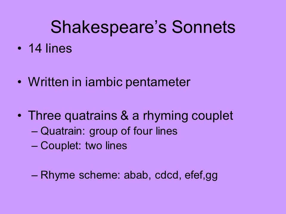 sonnets generally deal with the expression of emotion especially