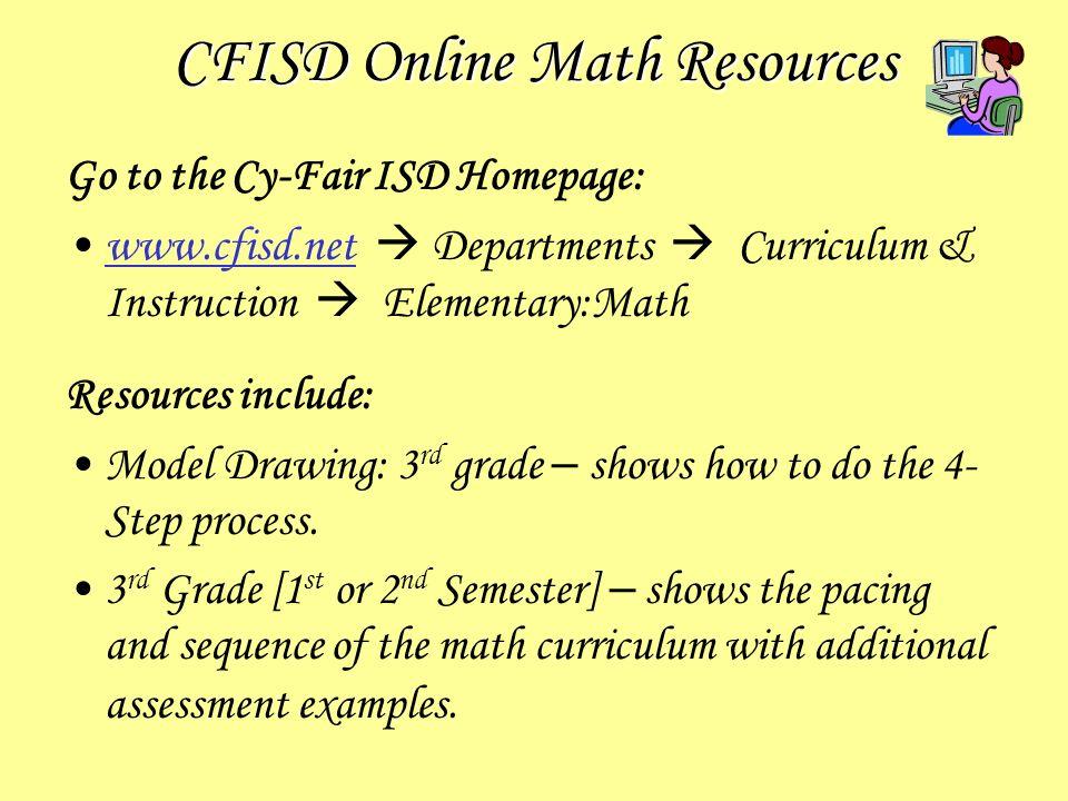 cfisd 3rd grade math homework