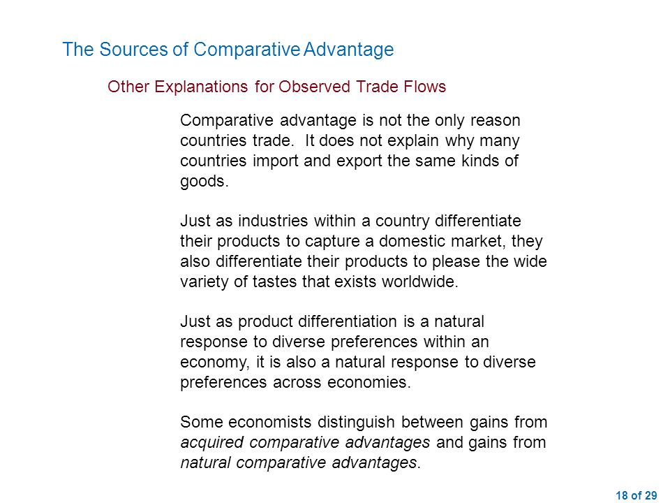 1 of 29 Lecture 14 Trade Surpluses and DeficitsThe Economic