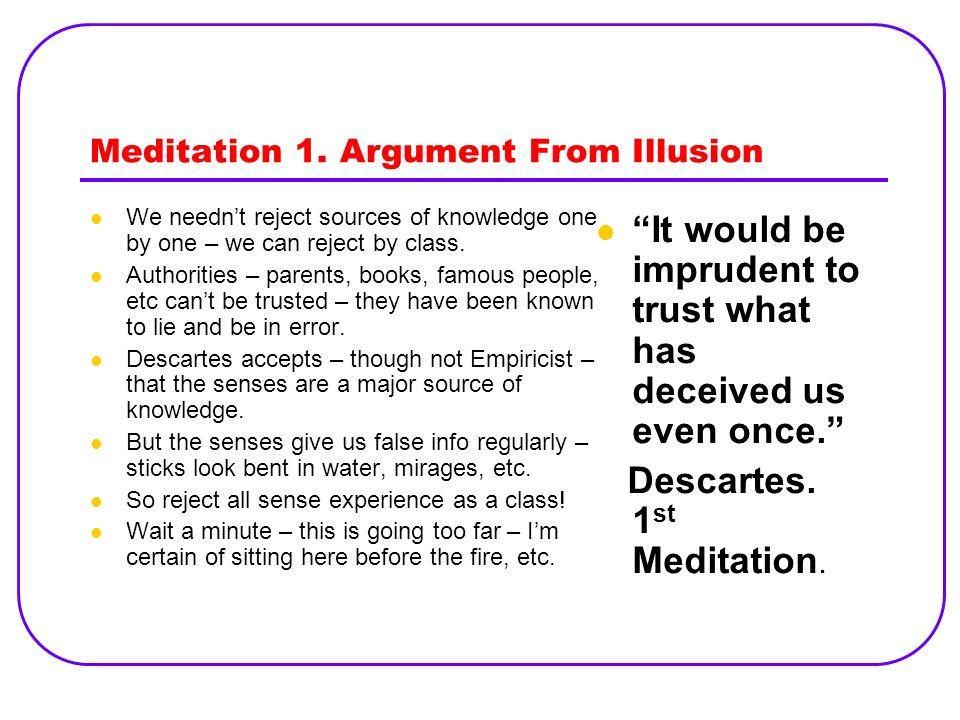 rene descartes meditation 1