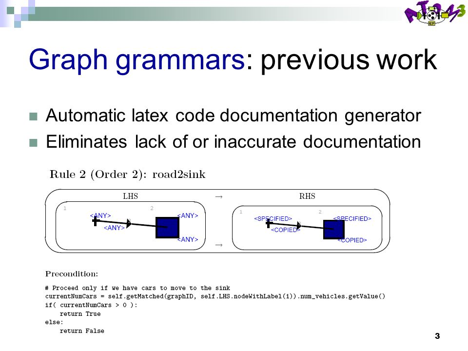 1 Linear constraints layout in graph grammars, layout algorithms