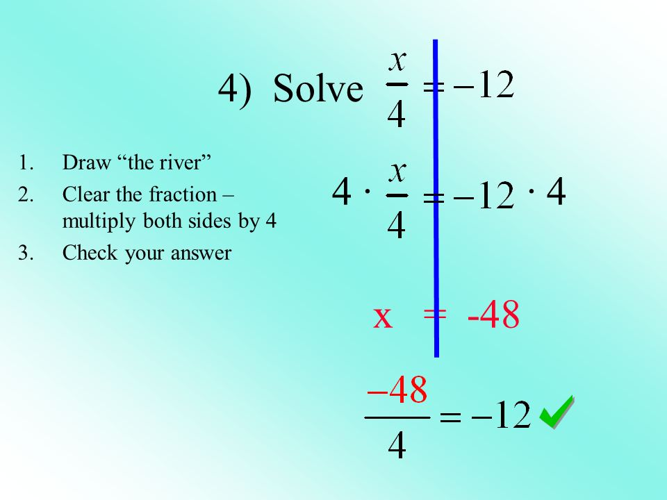 One step equations using multiplication and division. - ppt download