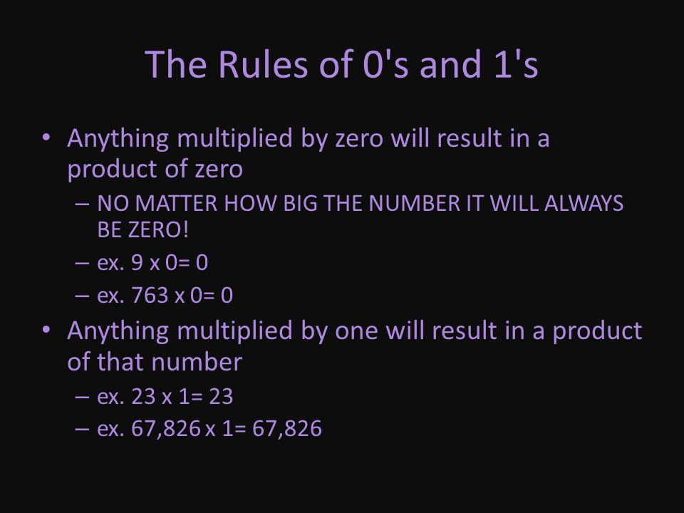 The Basics of Multiplication Multiplication is a quick way of adding a series of numbers.