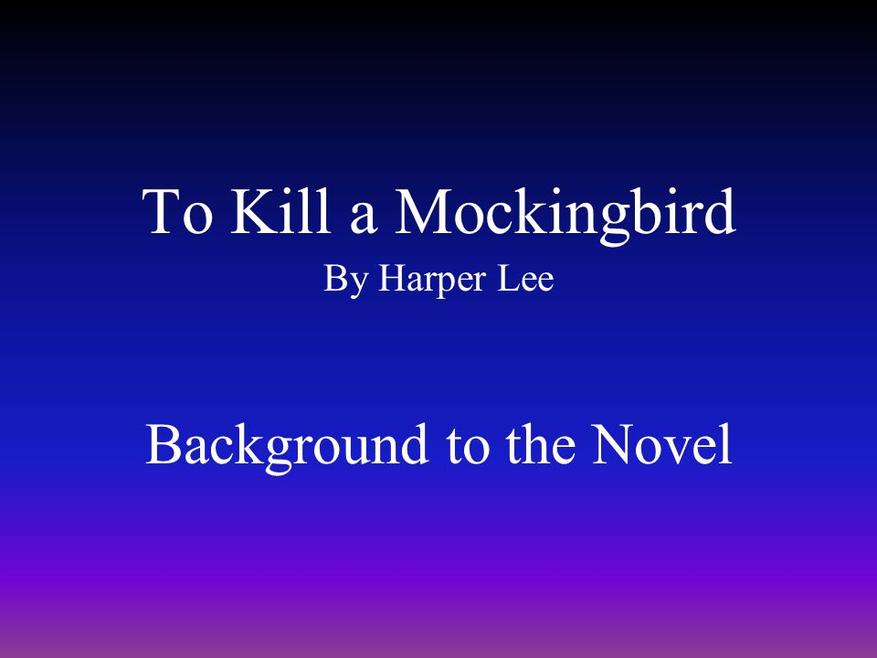 mockingbird background