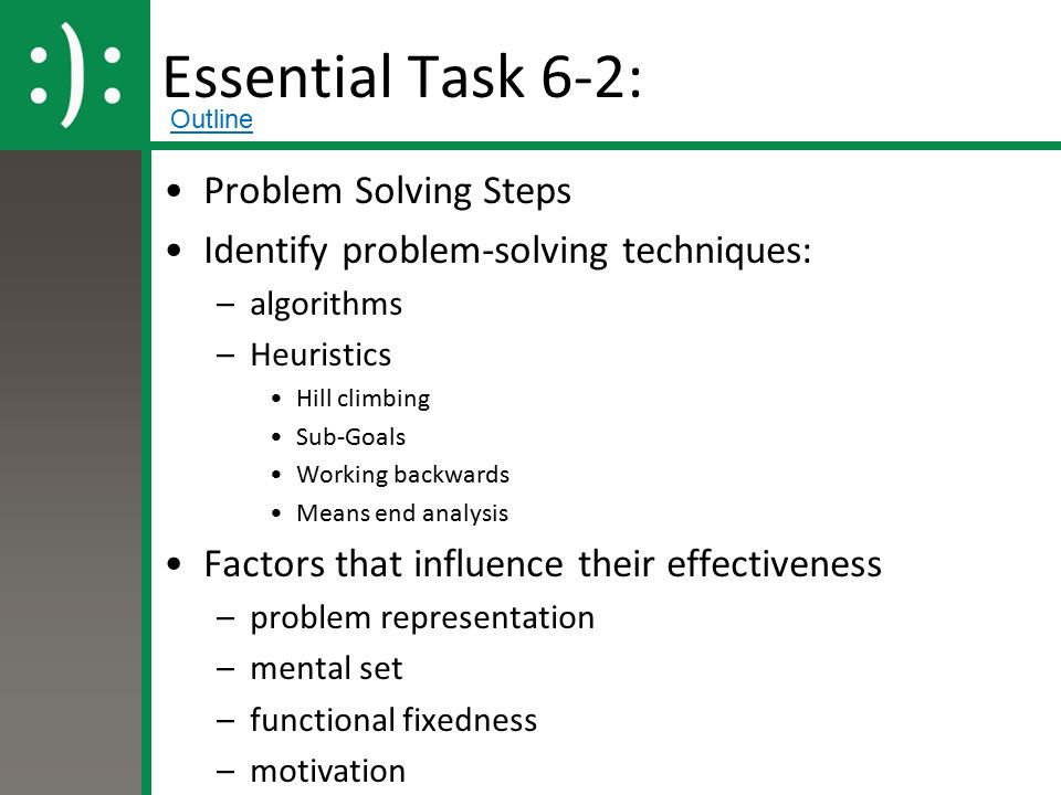 explain the three 3 techniques for solving time value problems The three-part lesson in mathematics co-planning, co-teaching and supporting student learning  3 webcast segments a problem-solving approach  knowledge at the same time as they contribute to the collective knowledge of.