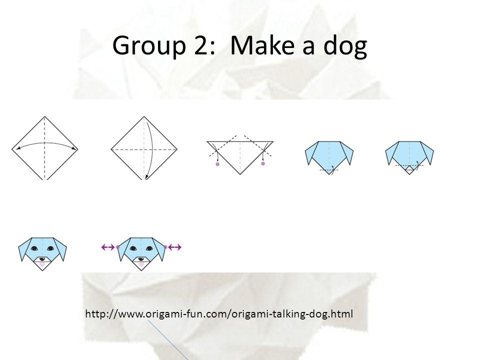 origami dog | Tumblr | 720x960