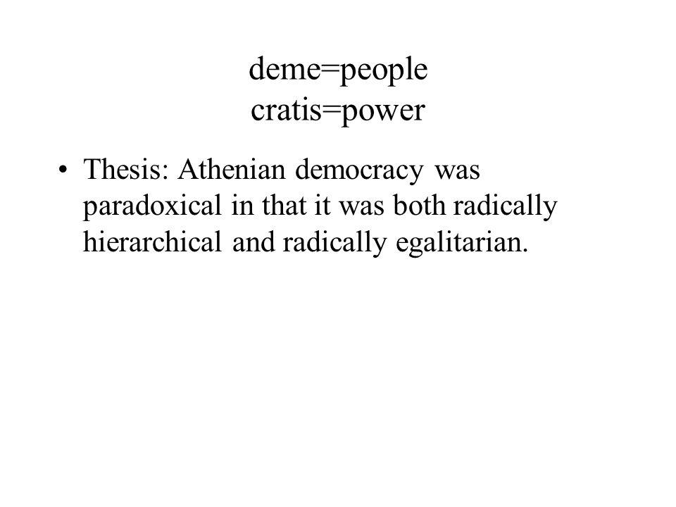 was athens a true democracy