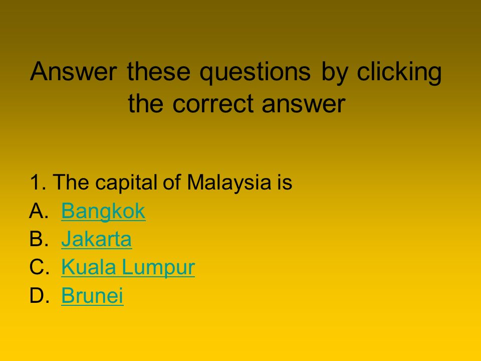 Capital City Quiz Next  In this quiz you will be shown a map