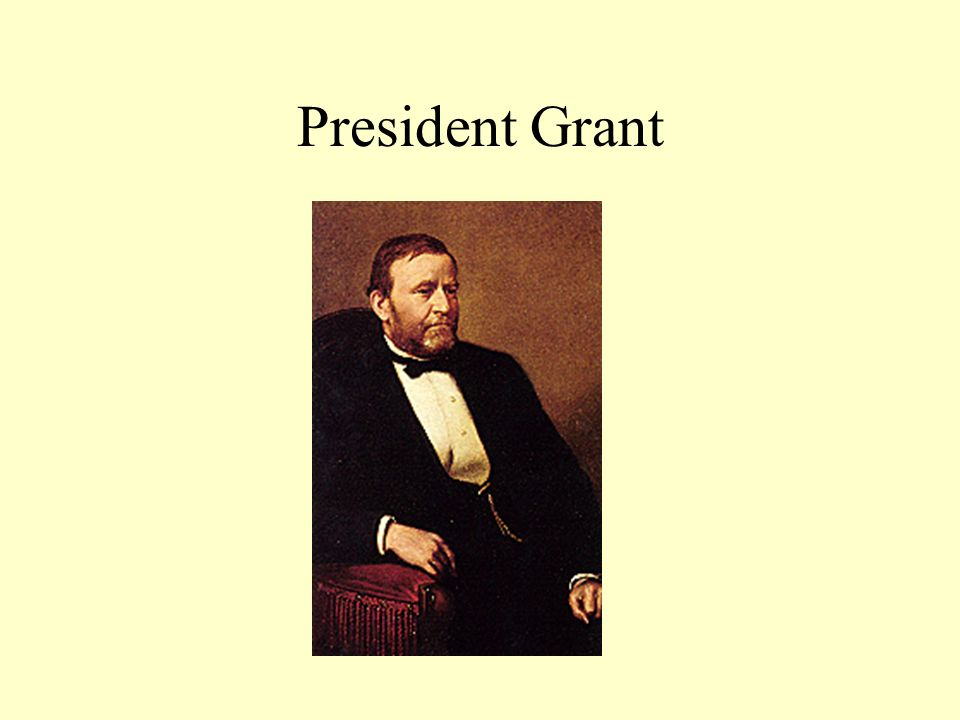 Grant Presidency Did attempt to enforce Reconstruction Presidency clouded by scandals Republican party divided between Stalwart and Liberal Republicans—little energy left to devote to Reconstruction.