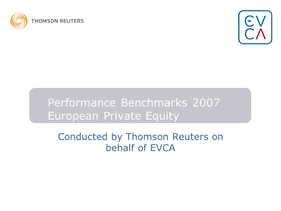 Performance Benchmarks 2007 European Private Equity
