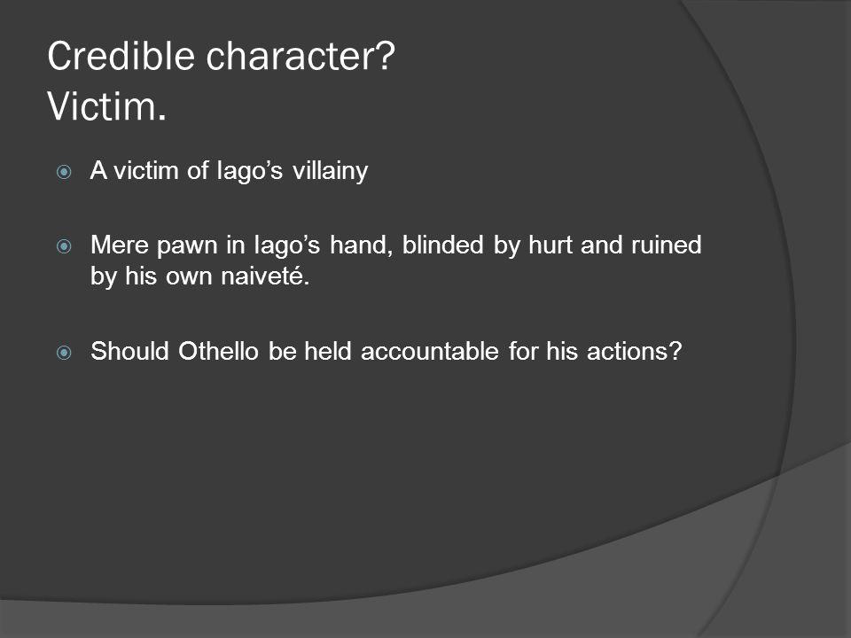credible character