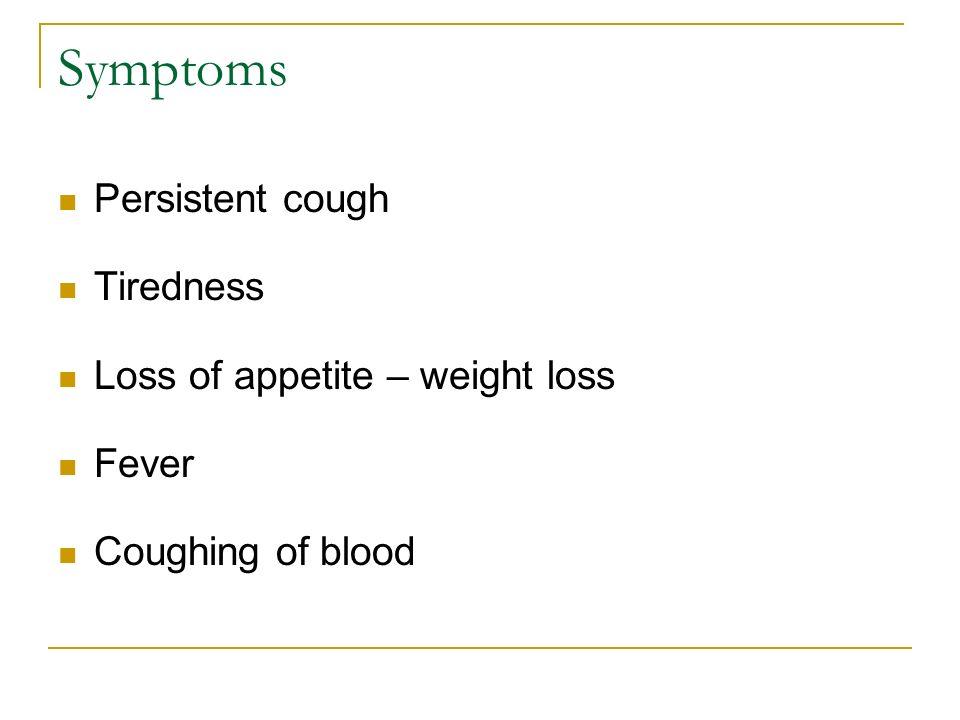 Lung Disease  Pulmonary Tuberculosis Symptoms Persistent