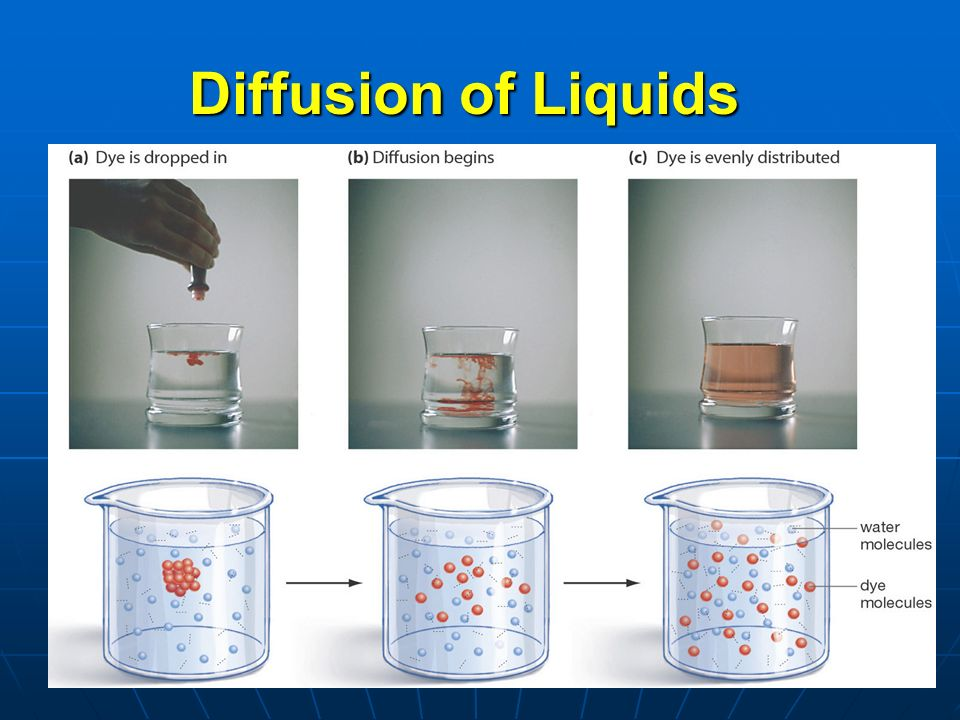 9 Simple Diffusion Molecules move from area of HIGH to LOW concentration Molecules move from area of HIGH to LOW concentration Requires NO energy to make the molecules move.