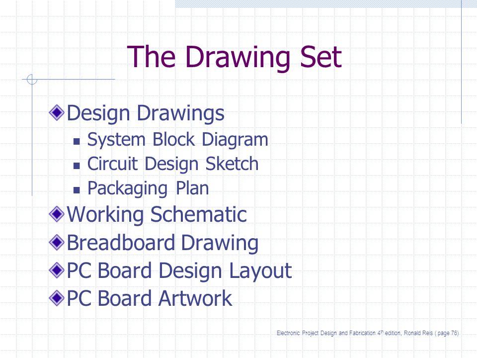 Drawings. The Drawing Set Design Drawings System Block Diagram ...