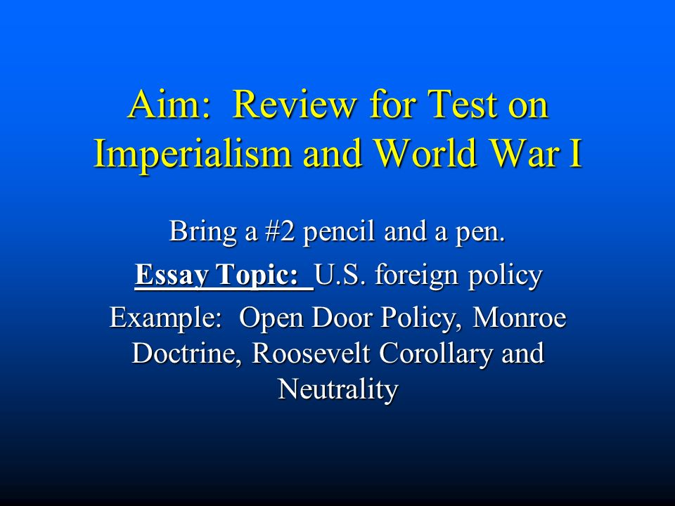 essay questions on imperialism Imperialism in india and china imperialism is the dominance of strong country over weak courtiers china and india were imperialized by british government in mid 1880s in the 21st century, british dominated over india and china.