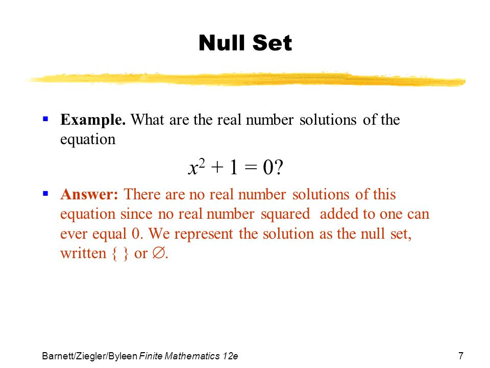 Chapter 7 Logic Sets And Counting Section 2 Sets Ppt