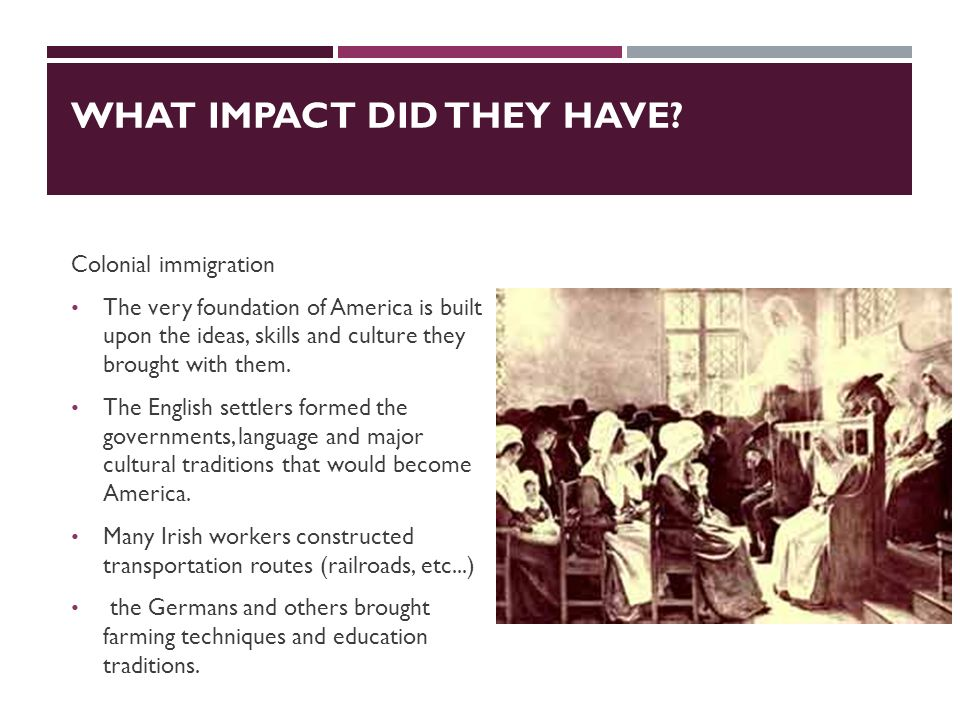 POLITICAL EFFECTS OF IMMIGRATION  Laws passed I. Chinese Exclusion Act of 1882 II.