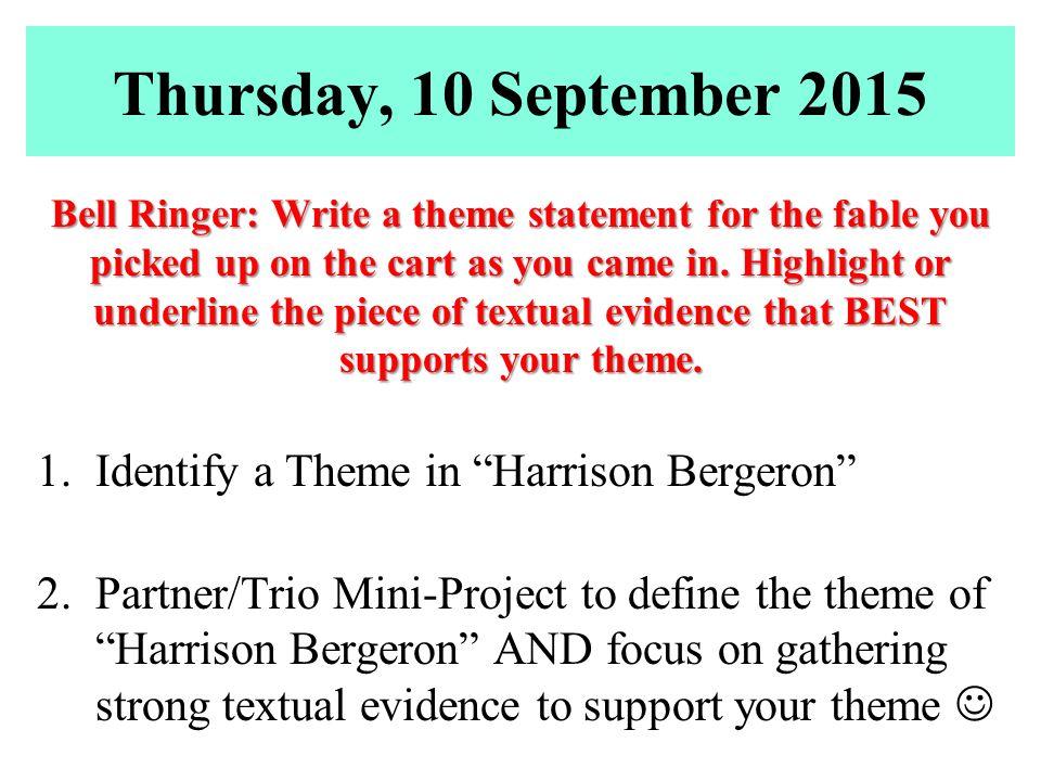 define theme statement