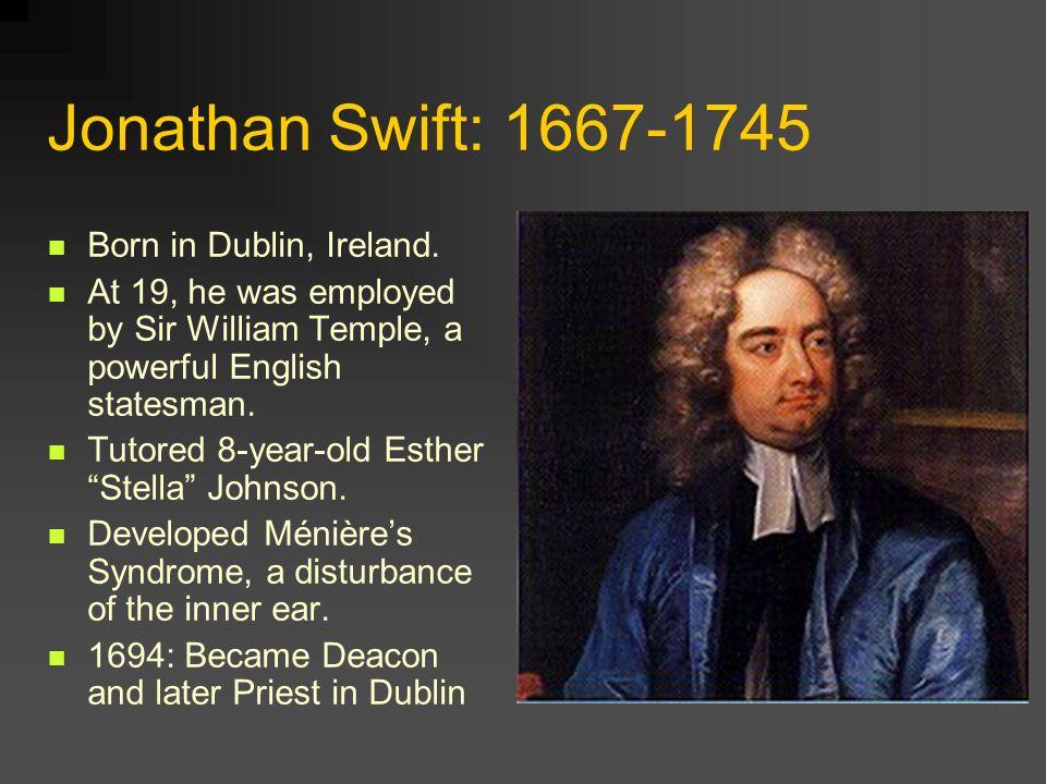 jonathan swift born